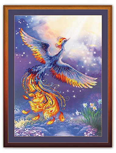 RIOLIS 0034 PT - Bird of Happiness - Counted Cross Stitch Kit 11¾