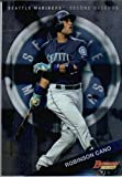 2015 Bowman's Best #9 Robinson Cano Baseball Card in Protective Screwdown Display Case