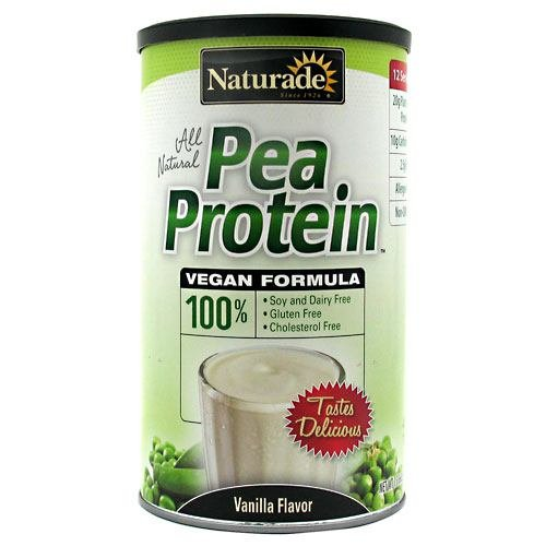 NATURADE: Pea Protein - Vanilla 12 Serving Canister, 15.2 oz