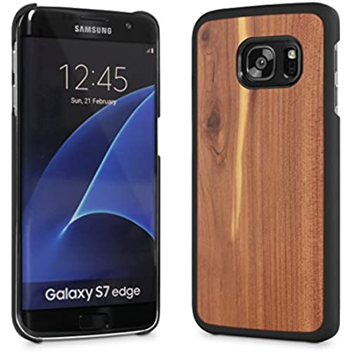 Cover-Up #WoodBack Real Wood Snap Case for Samsung Galaxy S7 Edge - Cedar Sales