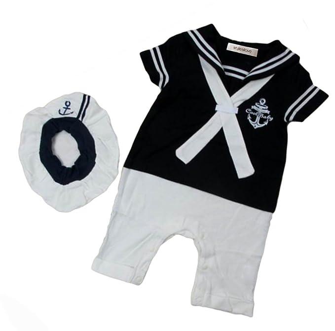 Amazon.com: stylesilove Infant bebé Baby Boy – Marinero de ...