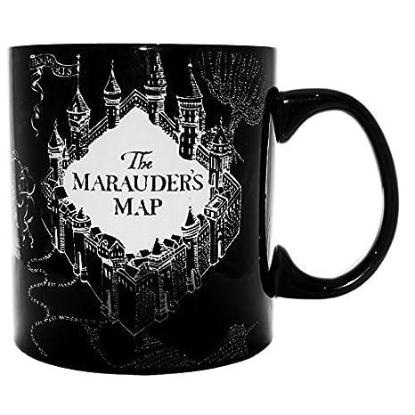 Amazon.com: Harry Potter – Mapa del Merodeador Heat Reveal ...