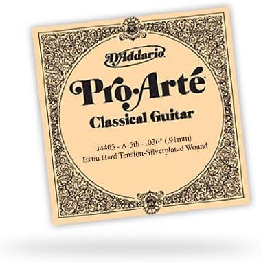 DAddario J4405 Pro-Arte, cuerda individual de nailon para guitarra clásica, tensión normal, quinta cuerda: Amazon.es: Instrumentos musicales