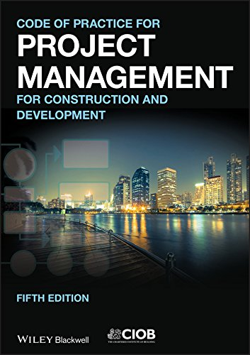 E.B.O.O.K Code of Practice for Project Management for Construction and Development R.A.R