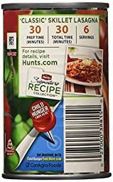 Hunt\'s Tomato Paste 100% Natural 6 Ounce (Pack of 3)