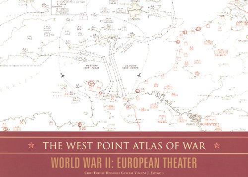 The West Point Atlas of War: World War II: European Theater