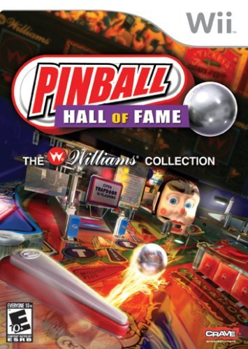 Pinball Hall of Fame: The Williams Collection - Nintendo Wii by Crave Entertainment (Wii Games Pinball)