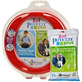 Red Potette Plus Port-a-potty Training Potty Travel...