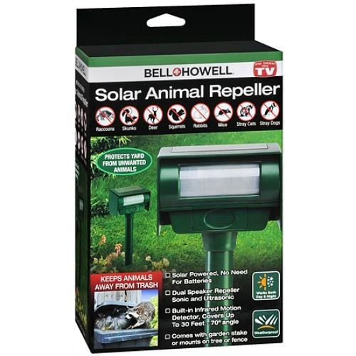 Bell Howell Solar Animal Repeller product image