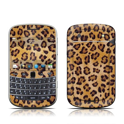 Leopard Spots Design Protector Skin Decal Sticker for BlackBerry Bold Touch 9930 9900 Cell Phone