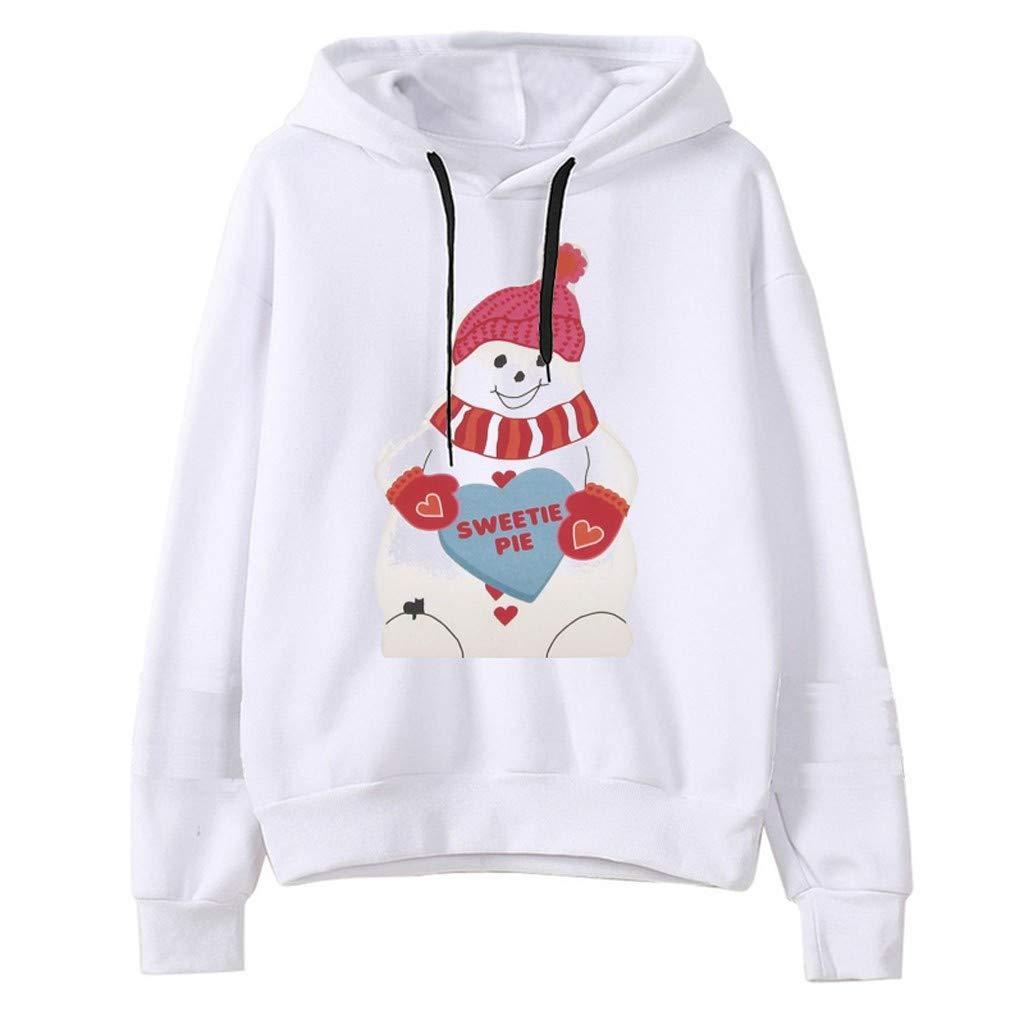 Shop from 1000 unique SPORTTIN Christmas Hoodies for Women Plus Size Pullover Santa Claus Snowman Print Ugly Xmas Sweatshirt