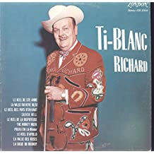 Ti-Blanc Richard: 1969 Self Titled LP VG+/VG++ Canada London SDS 5064