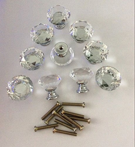 gold and crystal knobs - 5