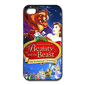 Beauty Beast Safe Slide Case Cover For IPhone 4/4s - Style Case