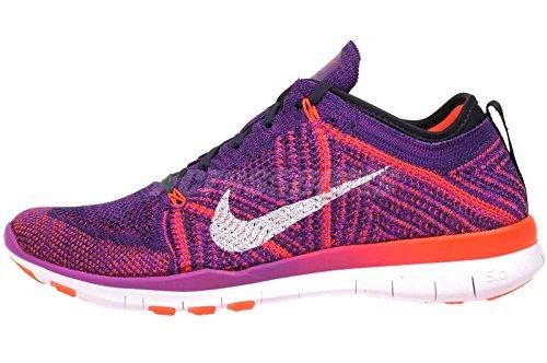 Nike Free Tr Flyknit Hyper Violet Femmes Chaussures De Formation En Cours Dexécution Taille 6