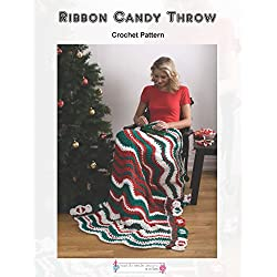 Ribbon Candy Throw - Crochet Pattern