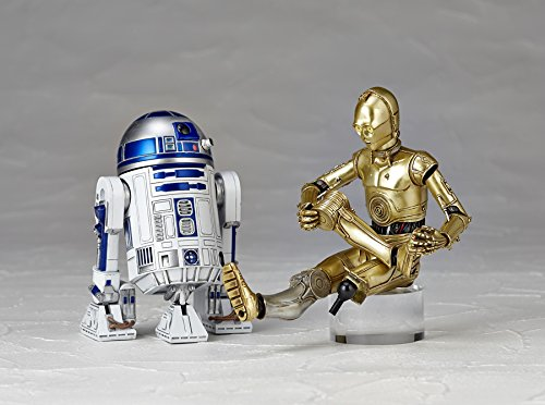 figure complex Star Wars Revoltech R2-D2 Art-to-Dee-to-about 100mm ABS /& PVC painted action figure Animewild 4537807130044