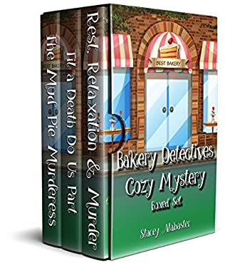 book cover of Bakery Detectives Cozy Mystery Books 4 - 6