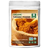 Naturevibe Botanicals Organic Turmeric Root Powder with Curcumin - 1 lb ( 16 Ounces ) - Curcuma longa | Raw, Gluten-Free & Non-GMO | Relieves Pain | Fat Metabolism | Weight Loss.
