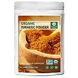 Naturevibe Botanicals Organic Turmeric Root Powder with Curcumin - 1 lb ( 16 Ounces ) - Curcuma longa | Raw, Gluten-Free & Non-GMO | Relieves Pain | Fat Metabolism | Weight Loss.