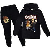 Hoodies Roblox Sweatshirt en Broek Kinderen Zwart