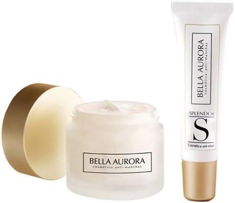 Bella Aurora Splendor 10 Crema y Contorno de Ojos - 1 pack: Amazon.es: Belleza