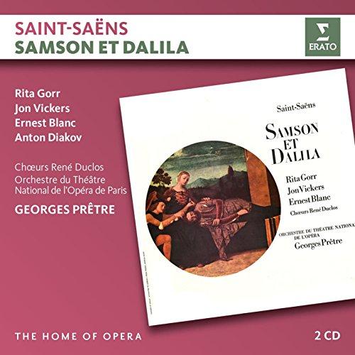 Saint-Saëns: Samson et Dalila (2CD) Samson Et Dalila Saint Saens