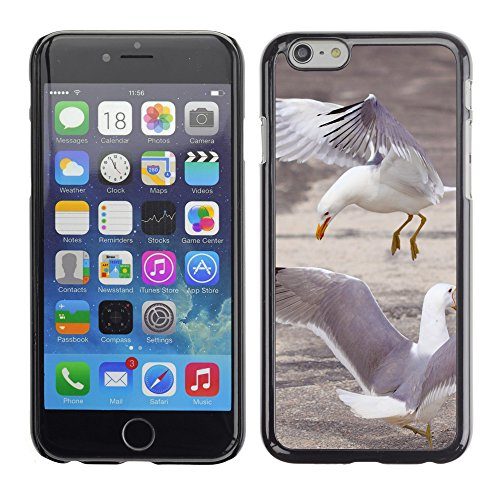 Premio Sottile Slim Cassa Custodia Case Cover Shell // V00003916 trois mouettes // Apple iPhone 6 6S 6G 4.7""