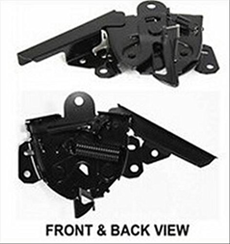 OE Replacement Mitsubishi Lancer Hood Latch (Partslink Number MI1234106)