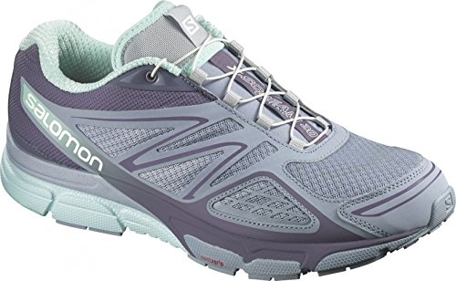 Salomon Scarpe Donna X-Scream 3D Stone Blue/Artgrey/Lucite Size UK 5.5 EU 38 2/3
