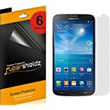 "SUPERSHIELDZ- High Definition (HD) Clear Screen Protector for Samsung Galaxy Mega 6.3""+ Lifetime Replacements Warranty Samsung Galaxy Mega Screen Protector Shield Guard (AT&T, T-Mobile, Sprint, Verizon) [6-PACK] - Retail Packaging"