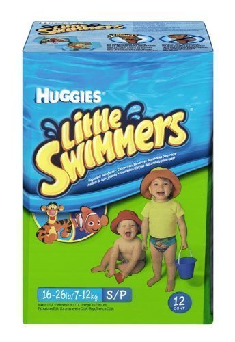 Huggies Swimmers Disposable Diapers 12 Count