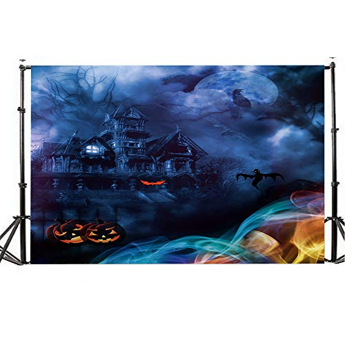 Photography Background, WensLTD Halloween Backdrops 5x3FT Lantern Background Photography Studio Decoration (I)]()