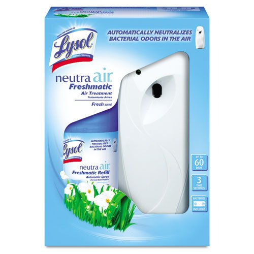Lysol Neutra Air Freshmatic Automatic Spray Kit (Gadget + 1 Refill) Fresh Scent, Air Freshener, Odor Neutralizer