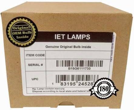 IET Lamps 純正オリジナル交換用電球/ランプ OEMハウジング Lenovo TD319 プロジェクター用 (フィリップス内部)