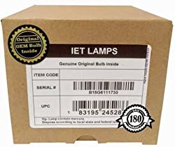 Iet Lamps Genuine Original Replacement Bulb Lamp With Oem Housing For Nec Mc331x Projector Philips Inside