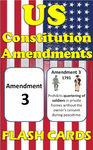 photograph regarding Amendments Quiz Printable identified as US Consutional Amendments Flash Playing cards: Double Sided and Illustrated Playing cards for Uncomplicated Investigate and Memorization!