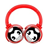 Bandy Red Ink Wireless Over Ear Headset Bluetooth Headphones.Comfortable Protein Earpads.