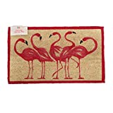 Cheap DEI Flamingo Coir Rug, 17 by 29-Inch