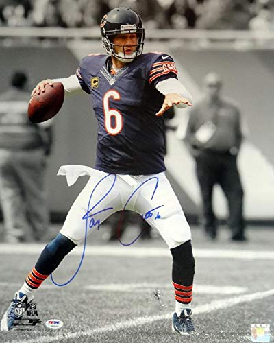Jay Cutler Signed Photograph - 16x20 Stock #102504 - PSA/DNA Certified - Autographed NFL Photos