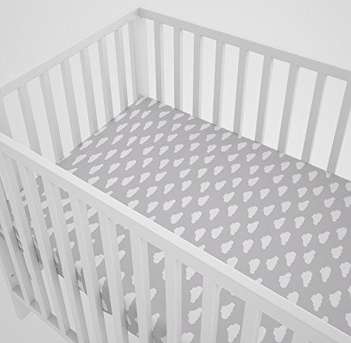 Spannbettlaken Bettuch für das Babybett 60x120 cm by Klara Brist