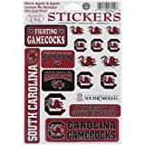 South Carolina Gamecocks Vinyl Cling Stickers 18 Removeable Decals NCAA Licensed