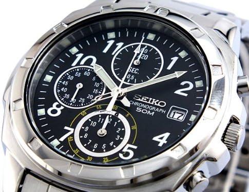 セイコー SEIKO クロノグラフ 腕時計 SND195P1 [並行輸入品]