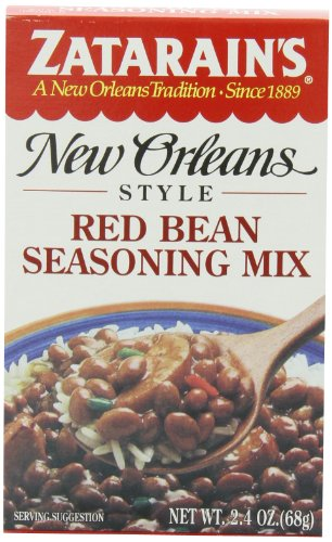 Zatarain's Red Bean Seasoning Mix, 2.4 oz. (Pack of 12)