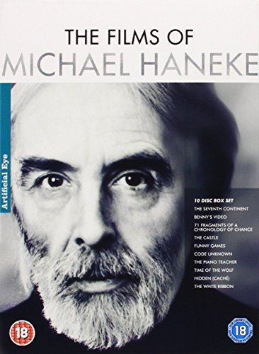 Michael Haneke Collection - 10-DVD Box Set ( The Seventh Continent (The 7th Continent) / Benny's Video / 71 Fragments of a Chronology of Chance ( [ NON-USA FORMAT, PAL, Reg.2 Import - United Kingdom ]