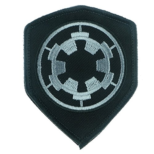 Iron Sew on Applique Patch : Star Wars Imperial Target (Black) (Rebel Die Flag T-shirts)