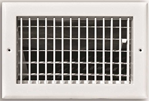 Truaire Adjustable 1-Way Wall/Ceiling Register, 12 in. X 12 in