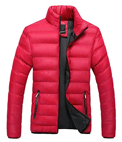 today Men's 4 Warm Stand Down Collar Lightweight Winter Padded UK Jacket r4qn6r
