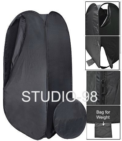 STUDIO-98 Portable Collapsible Outdoor Beach Photo Dressing Clothing Change Fitting Tent 76 inch High