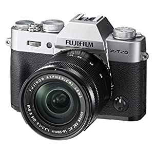 51mgoBGDrRL. SS300  - Fujifilm X-T20 Mirrorless Digital Camera w/XC16-50mmF3.5-5.6 OISII Lens-Silver